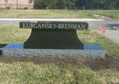 Cemetery Benches - Kurgansky-Brenman