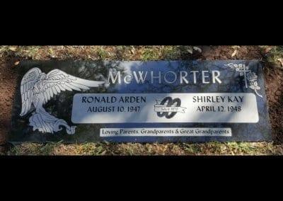 Companion Grave Markers - McWhorter