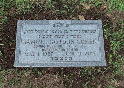 Jewish Grave Markers - Cohen