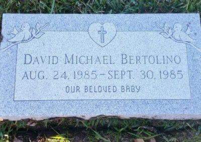 Baby Grave Markers - Bertolino