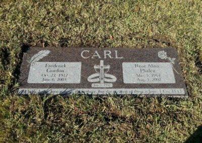 Companion Grave Markers - Carl