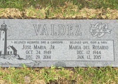 Companion Grave Markers - Valdez