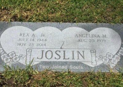 Companion Grave Markers - Joslin