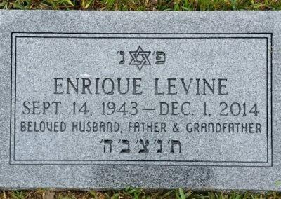 Jewish Grave Markers - Levine