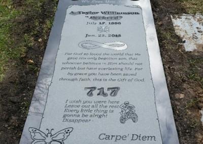 Ledger Grave Markers - Williamson