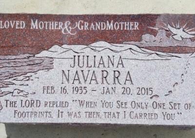 Flat Headstones or Single Grave Markers - Navarra