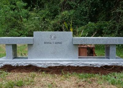 Cemetery Benches -  Nicolaou
