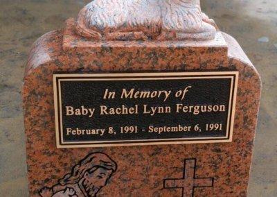 Single Upright Headstones and Single Upright Monuments - Ferguson