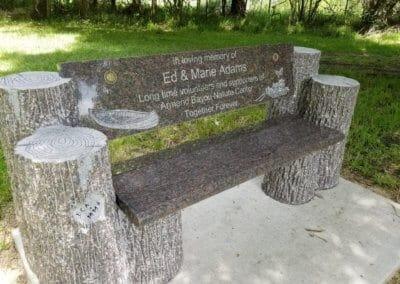 Cemetery Benches - Adams