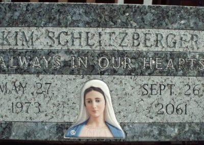 Flat Headstones or Single Grave Markers - Schlitzberger