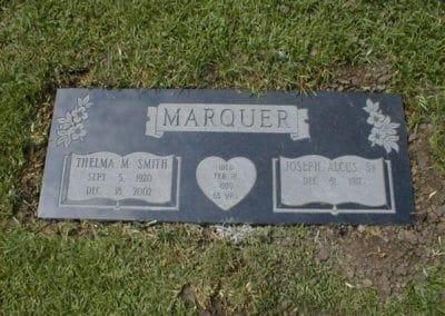 Companion Grave Markers - Marquer