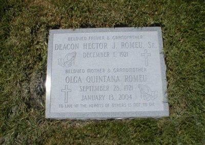 Companion Grave Markers - Romeu
