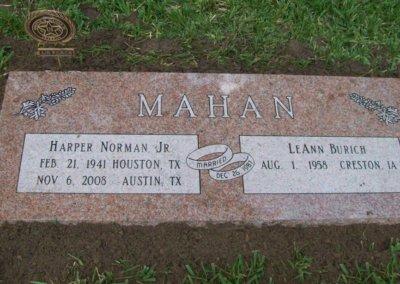 Companion Grave Markers - Mahan