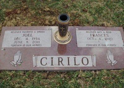 Companion Grave Markers - Cirilo