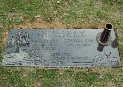 Companion Grave Markers - Conerly