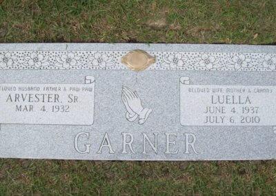 Companion Grave Markers - Garner
