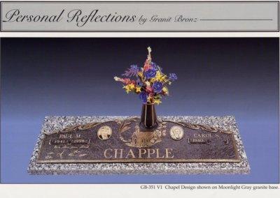 Bronze Grave Markers - Chapple