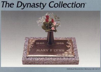 Bronze Grave Markers - Flynn