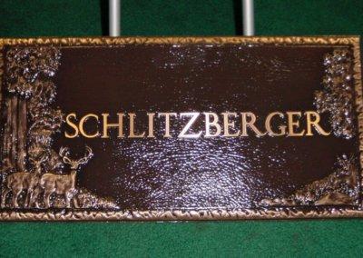 Bronze Grave Markers - Schlitzberger