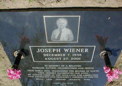 Ledger Grave Markers - Wiener