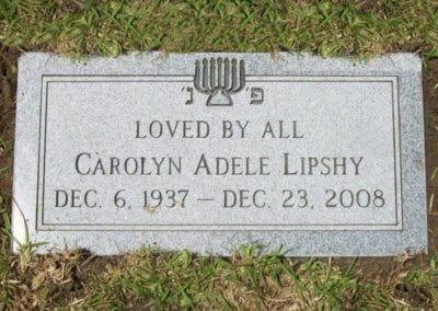 Jewish Grave Markers - Lipshy