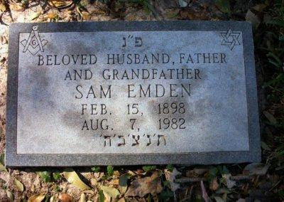 Jewish Grave Markers - Emden