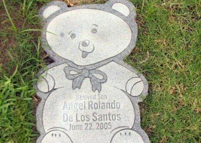 Baby Grave Markers - De Los Santos