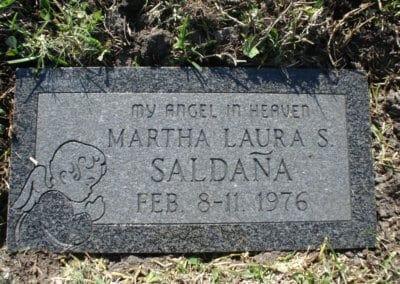 Baby Grave Markers - Saldana