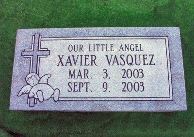 Baby Grave Markers - Vasquez