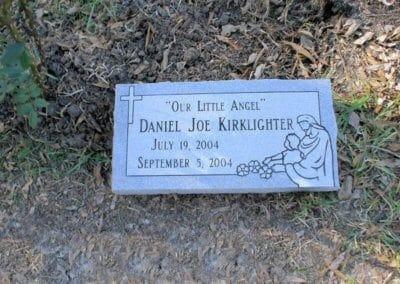 Baby Grave Markers - Kirklighter