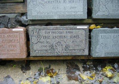 Baby Grave Markers - Jones