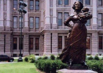Bronze Statuary - Texas Capital