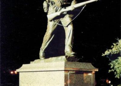 Bronze Statuary - Soldier Memorial
