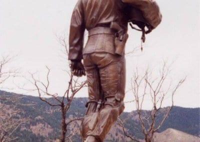 Bronze Statuary - USAF Riesner Memorial