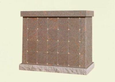 Columbariums - Granite Wall