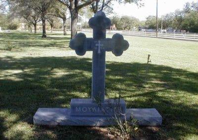 Heart Shaped Headstones and Cross Monuments - Moyaiathe