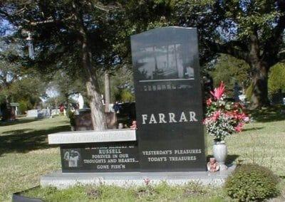 Cemetery Benches -  Farrar