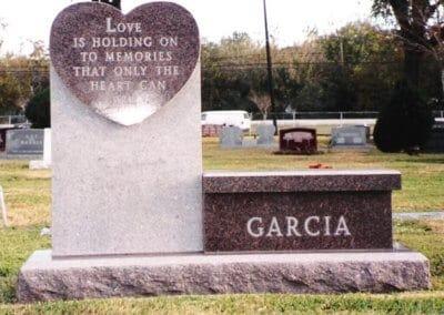 Cemetery Benches -  Garcia