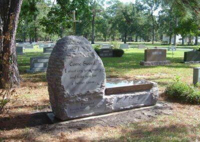 Cemetery Benches -  Sword
