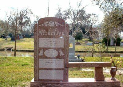 Cemetery Benches - Nicholson