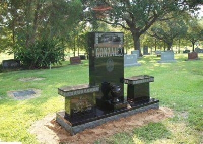 Cemetery Benches - Gonzalez