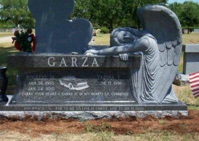 Cemetery Benches - Garza
