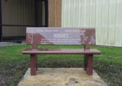 Cemetery Benches - Hughes