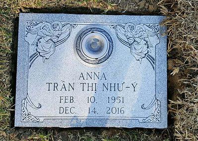 Flat Headstones or Single Grave Markers - NHU-Y